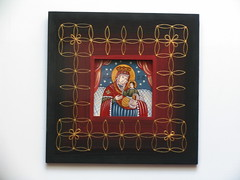 Maica Domnului cu Pruncul (cod MDP11) (Marius Paciu Art) Tags: icons jesuschrist religiousart byzantineicons cultobject religiousrepresentations
