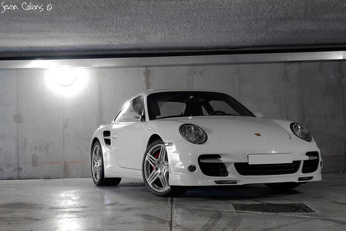 White is white - Porsche 997 Turbo by calians.sevan