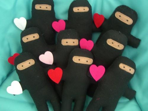 valentine ninja army!