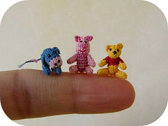 Tell me a Story (MUFFA Miniatures) Tags: cute miniature funny doll crochet pooh piglet amigurumi eeyore dollhouse muffa cdhm threadanimals threadminiatures