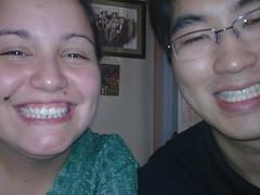 Say Cheese! (Stella Dauer) Tags: portrait people smile face smiling pessoas couple sorriso casal sorrindo rostos