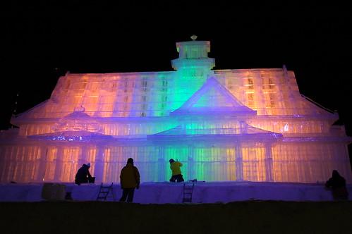 Getting for Sapporo Snow Festival 2009
