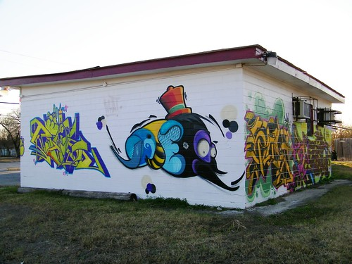 Graffiti Art on Building
