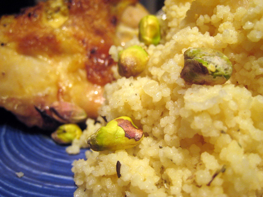 Broiled Chicken and Couscous | Safe To Eat