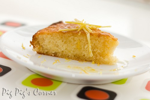 ginger lemongrass cake