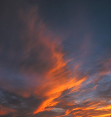 Cloud on Fire (cormend) Tags: light sky orange abstract nature clouds canon landscape fire ps powershot pointandshoot g2 powershotg2 canonpowershotg2 cormend