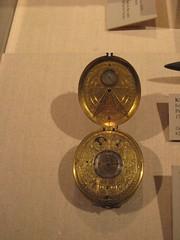 Clock Watch with Sundial (unforth) Tags: newyorkcity newyork art dutch metal museum european manhattan steel 17thcentury artmuseum brass clocks uppereastside metropolitanmuseumofart decorativeart janjansenbockeltz