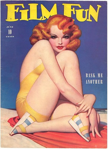 Film Fun Magazine, Enoch Bolles cover - 1942 Jun