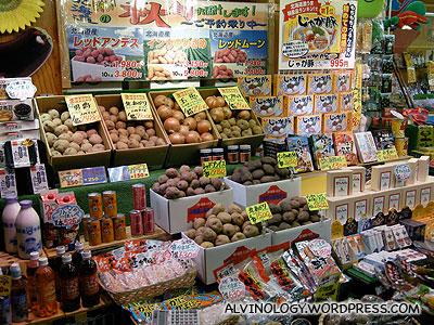 Hokkaido foodstuff