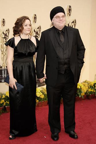 Premios Oscar Philip Seymour Hoffman y Mimi O'Donnell