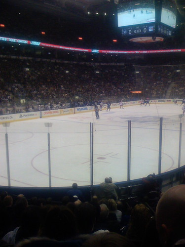 leafs hockey game