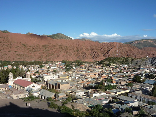 View of Tupiza from the Mirador