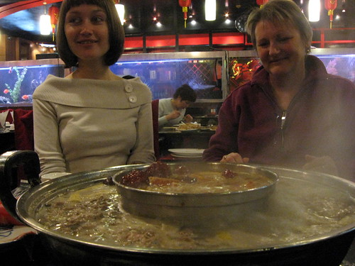 Giant hot pot