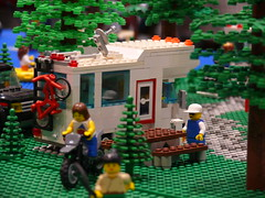 camping lego rv campground camper motorhome tca brickpile rving legotrains baylug bayltc