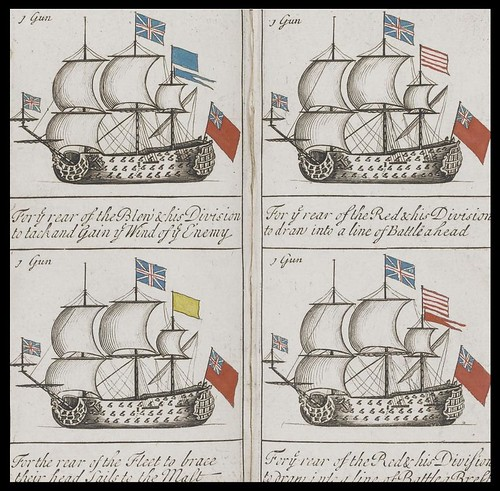 The Sailing and Fighting Instructions or Signals as they are observed in the Royal Navy of Great Britain (J Greenwood, 1715)
