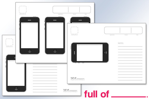 iPhone app Template sample