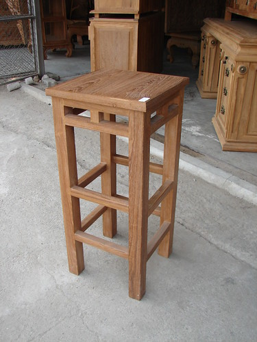 Picture 206 Teak bar stool