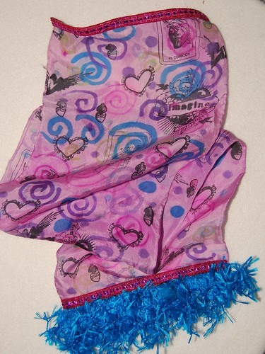 silk scarf project