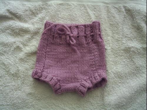 Cubierta de lana para pañal de tela