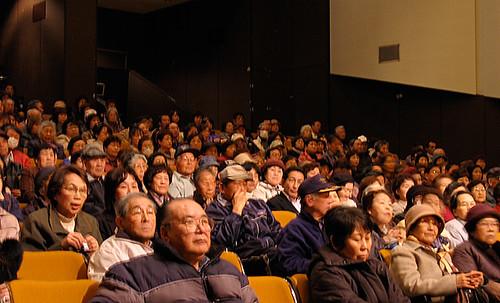 上映会『おくりびと』