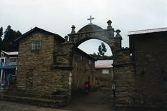 peru church laketiticaca titicaca island iglesia taquile isla isladetaquile