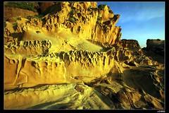 nEO_IMG_IMG_8502 (c0466art) Tags: morning blue light shadow sea sky color strange beautiful yellow stone canon landscape island coast nice rocks view place keelung hongping colourartaward