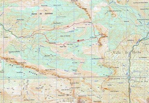 Mapa Chipeta