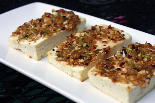 Meat-Free Friday: Korean Baked Tofu and Spicy Dandelion Greens 3