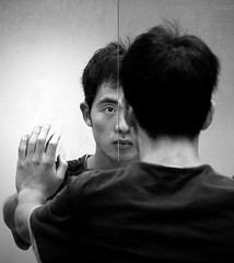 In the Mirror (rostcliff) Tags: bw delete10 canon delete9 delete5 delete2 delete6 delete7 save3 delete8 delete3 delete delete4 save save2 save4 save5 save6 delete11 ef85mm 450d