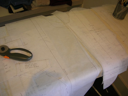 I do not cut patterns, I trace them - every time.