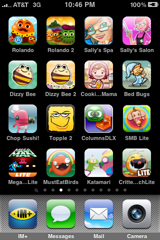 Daynah's iPhone Games