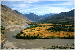 Ayun, a beautiful village of Chitral (imranthetrekker , new year new adventures) Tags: life pakistan mountains yellow wheat farming greenery peshawar agriculture nwfp ayun chitral hindukush imranthetrekker terracefarming imranschah kalashvalleys riverchitral chitralguy