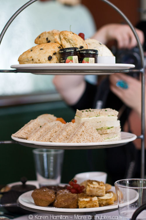 Afternoon tea at the Fish House in Stanley Park