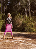 It's not creepy that she is standing in a pentagram in the woods... (Elouvie) Tags: magazine french frenchvogue