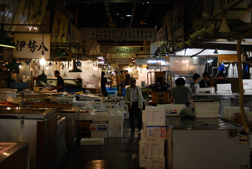 Tsukiji, Tokyo: The Market