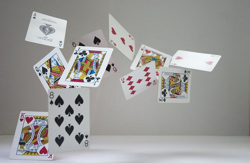 Flying cards