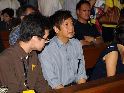 Son of Viel Aquino Dee receives Bong-bong Marcos