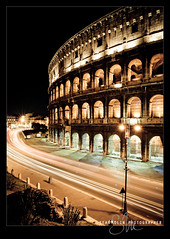 Roma di notte (Sean Molin Photography) Tags: european vacationeuropeitalyrome2009marchvacationitalli vacationeuropeitalyrome2009marchvacationitallian