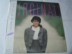 原裝絕版 1986年 11月1日 南野陽子 Yoko Minamino VIRGINAL  黑膠唱片 原價  2800YEN 中古品