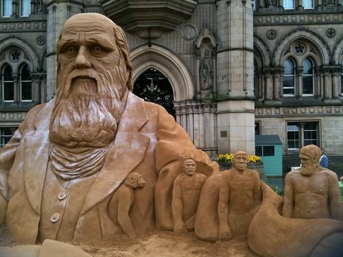 Darwin Sand Sculpture