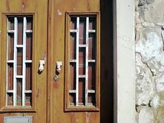 Old door in crumbling Tavira (cobismith) Tags: portugal algarve tavira lpdamaged