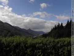 Mamore Lodge above Kinlochleven