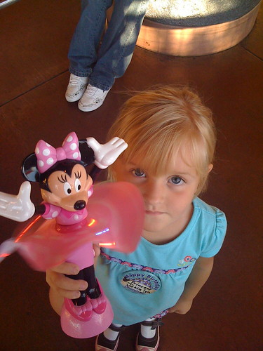 Jessalyn at Disneyland