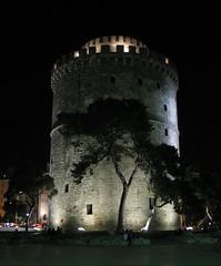 White Tower, Thessaloniki, Greece (Tilemahos Efthimiadis) Tags: favorite hellas greece macedonia 100views thessaloniki 200views fav 50views whitetower openstreetmap makedonia   platinumheartaward   osm:way=140156303 address:country=greece address:city=thessaloniki