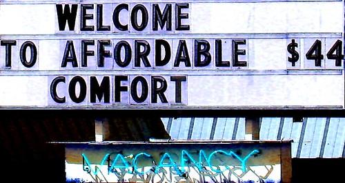 Affordable $44 comfort (blue)