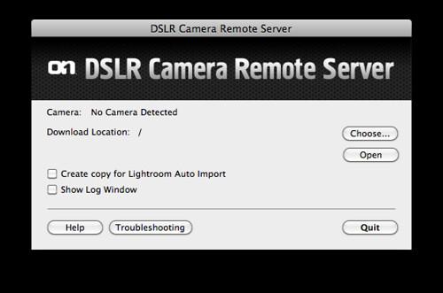 On1 DSLR Camera Remote Server