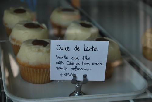 Dulche de Leche cupcakes