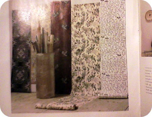 Wallpaper by Catherine Martin at Anthropologie