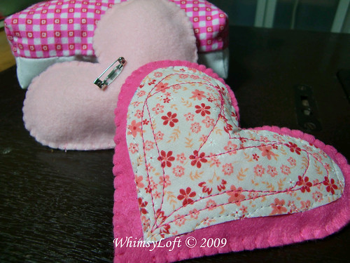 Heart brooch2