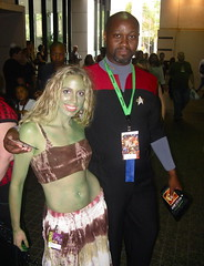 Commander Sisko? (merrypranxter) Tags: fiction nerd trek star costume geek cosplay space nine deep 9 science fi benjamin dork 2009 sci dragoncon ds9 sisko